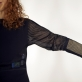 """Suknelė """"Liečiamas paviršius"""" (Touchpad Dress). H. Khoshneviss nuotr."""