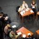 """Spektaklio """"Didis blogis"""" repeticija. T. Ivanausko nuotr."""