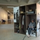 Donato Stankevičiaus instaliatyvi kompozicija, skirta visiems, kada nors atvykusiems į Nidos fotografų susitikimus. 2017 m.