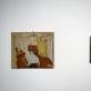"""Petras Lincevičius, """"Namukas laikui / Ryto nebus"""", fragmentas. 2015 m. A. Narušytės nuotr. Galerija """"Titanikas"""". Geriausias """"Art Vilnius'15"""" jaunasis menininkas."""