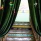 Pagal išlikusias fotografijas atstatyti laiptai Agafurovų šeimos namų muziejuje-klube. 2019 m. A. Narušytės nuotr.