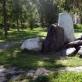 Tokios akmenų kompozicijos puošia parką prie Jekaterinburgo dailės muziejaus. 2019 m. A. Narušytės nuotr.