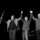 """Petro Vyšniausko, Vytauto Labučio, Eugenijaus Kanevičiaus ir Arkadijaus Gotesmano projektas """"Tostas"""". D. Klovienės nuotr."""