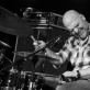 """""""The Bad Plus"""" būgnininkas Dave King. D. Klovienės nuotr."""