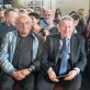 Viačeslavas Ganelinas, Anatolijus Šenderovas ir Izraelio ambasadorius Lietuvoje Amiras Maimonas. P. Račiūno nuotr.