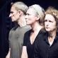 """Rytis Saladžius, Rimantė Valiukaitė ir Diana Anevičiūtė spektaklio """"Durys"""" repeticijoje. T. Ivanausko nuotr."""