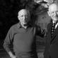 Pablo Picasso su Daniel-Henry Kahnweiler. 1964 m.