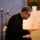 Daumantas Kirilauskas Nidos evangelikų bažnyčioje 2016 m. Organizatorių nuotr.