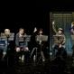 """Mindaugo Nastaravičiaus pjesės """"Demokratija"""" skaitymas. Nuotrauka iš LNDT teatro archyvo"""