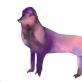 Diana Remeikytė. Fantastiniai gyvūnai, akvarelė ant estampinio popieriaus, 54x78cm, 2020 m.
