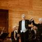 Dirigentas John Eliot Gardiner ir pianistas Andrasas Šifas. Organizatorių nuotr.