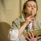 """Saulė Degutytė spektaklyje """"Eglė – žalčių karalienė"""". """"Stalo teatro"""" archyvo nuotr."""