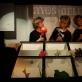 """Elvyra Piškinaitė, Almira Grybauskaitė, Sigita Mikalauskaitė. Nuotrauka iš Vilniaus teatro """"Lėlė"""" archyvo."""