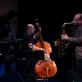 Ernie Watts (saksofonas), Rudi Engel (kontrabosas) ir Heinrich Kobberling (mušamieji). D. Jadevičienės nuotr.
