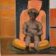"""Sigita Maslauskaitė-Mažylienė, parodos """"Prie Babilonijos upių. Pabėgėlių laiškai"""" eksponatas, nuotr. galerijos """"Artifex"""""""