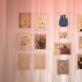 """Antano Mončio piešiniai. Parodos """"Glamonė"""" galerijoje """"Vartai"""" fragmentas. L. Skeisgielos nuotr."""