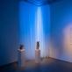 """Parodos """"Glamonė"""" galerijoje """"Vartai"""" fragmentas. L. Skeisgielos nuotr."""
