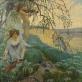 "František Jakub, ""Gamtos giesmė"". 1906 m. Banko ""Česká spořitelna"" nuosavybė"