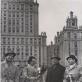 Lietuvos kvartetas (iš kairės: J. Fledžinskas, K. Kalinauskaitė, E. Paulauskas, M. Šenderovas) po koncerto Maskvoje 1949 m. Nuotrauka iš asmeninio archyvo