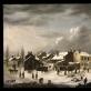 """Francis Guy, """"Žiemos scena Brukline"""" (iš Bruklino muziejaus)"""