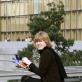Giedrė Jankevičiūtė. Paryžius. 2008 m. Nuotrauka iš asmeninio archyvo