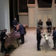 """Steve'o Reicho """"Drumming"""" atlikimas. D. Labučio nuotr."""