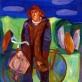 """Galina Petrova-Džiaukštienė, """"Žvejys II"""", 1971 m."""