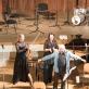 """Viačeslavas Ganelinas ir fortepijoninis trio """"FortVio"""". P. Račiūno nuotr."""