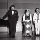 Gastrolės Kanadoje 1972 m. Iš kairės: E. Kuodis, R. Tamošaitienė, P. Tamošaitis, J. Girijotas. D. Tamošaitytės asmeninio archyvo nuotr.