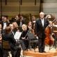 """David Geringas, Gintaras Rinkevičius ir Lietuvos valstybinis simfoninis orkestras. D. Umbraso nuotr. (""""Lietuvos rytas"""")"""