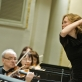 Lietuvos nacionaliniam simfoniniam orkestrui diriguoja Mirga Gražinytė-Tyla. D. Matvejevo nuotr.