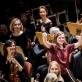 "Mirga Gražinytė-Tyla ir Lietuvos nacionalinis simfoninis orkestras Berlyno ""Konzerthaus"" salėje. D. Matvejevo nuotr."