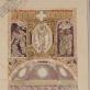 Jurgis Hopenas. Lentvario bažnyčios triumfo arkos dekoro projektas. 1924 m.  A. Baltėno nuotrauka