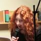 Indrė Valantinaitė skaito poeziją Zagrebo literatūros festivalyje