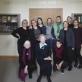 Su kolegomis iš Dailės istorijos ir vizualiosios kultūros skyriaus LKTI. 1-oje eilėje iš kairės: Laima Laučkaitė, Ingrida Korsakaitė, Jolita Mulevičiūtė, 2-oje eilėje: Giedrė Jankevičiūtė, Jolanta Širkaitė, Aistė Paliušytė, Erika Grigoravičienė, Mindaugas Paknys, Lijana Natalevičienė, Auksė Kaladžinskaitė, Lina Balaišytė. 2018 m.