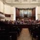 Repeticija Varšuvos filharmonijoje. R. Vitkausko nuotr.