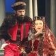 """Raimondas Baranauskas ir Rita Preikšaitė operoje """"Radvila Perkūnas"""". L. Brūzgos nuotr."""