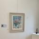 "Ekspozicijos fragmentas su Marc Chagall litografija ""Įsimylėjėliai"". XX a. 6–7 deš.  J. Gutauskienės nuotr."