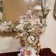 """Laikrodis, """"Lenzkirch"""" įmonė, apdaila (1850–1924) Meiseno porceliano fabrikas. Korpusas pagal skulptorių Johanno Joachimo Kändlerio ir Johanno Friedricho Eberleino projektą. E. Rumbutytės-Šimienės nuotr."""