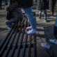 """Kauno fotografijos galerijos languose eksponuojama fotografo Andrejaus Liankevičiaus paroda """"Baltarusios procesas"""""""