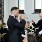 "Orkestras ""Ąžuolynas"", dirigentas Ugnius Vaiginis. D. Čėplos nuotr."