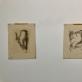 Albertas Veščiūnas, studentų meno lygoje (Niujorkas) sukurtos litografijos. 1951 m. M.K. nuotr.