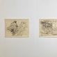 Albertas Veščiūnas, piešiniai iš 1955 m. blonknoto. M.K. nuotr.