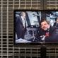 """NATO generalinis sekretorius Javier Solana bare """"NATO's"""" Vilniuje. 1996 m. LTV reportažas. Parodos fragmentas. A. Vasilenko nuotr."""