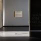"""Valdas Ozarinskas, 9-osios Baltijos trienalės """"BMW"""" architektūros fragmentas. 2005 m. (atkurtas parodai). Parodos fragmentas. A. Vasilenko nuotr."""