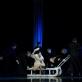 """Scena iš spektaklio """"Altorių šešėly"""". Nuotrauka iš Klaipėdos valstybinio muzikinio teatro archyvo"""