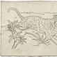 Ieva Elvyra Pempyte, sieninis kilimėlis su tigru