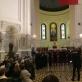"""Vokalinis ansamblis """"Acusto"""" ir Kauno pučiamųjų orkestras """"Ąžuolynas"""". Autorės nuotr."""