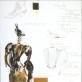 """H. Ibseno """"Junas Gabrielis Borkmanas"""". Freken Elos kostiumo eskizas. 1980 m."""