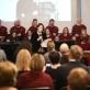 Jolita Liškevičienė sako sveikinimo kalbą garbės profesorei Birutei Žilytei. VDA nuotr.
